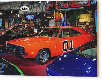 Dukes Of Hazzard Wood Print by Frozen in Time Fine Art Photography