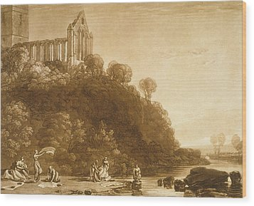Dunblane Abbey Wood Print by Joseph Mallord William Turner