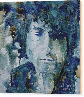 Dylan Wood Print by Paul Lovering