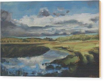 Earth Air Water Wood Print by Grace Keown