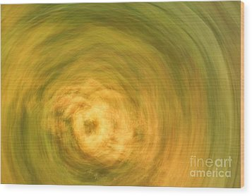 Earthly Whirlpool Wood Print by Imani  Morales