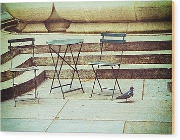 Empty Wood Print by Karol Livote