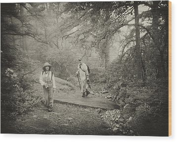 Enchanted Forest Wood Print by Jim Cook