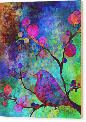 Enchantment Wood Print by Robin Mead