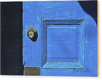 Entrance To Babylon Wood Print by Bob Orsillo