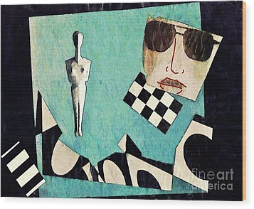 Eva Wood Print by Sarah Loft