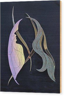 Eve Wood Print by Dan Redmon