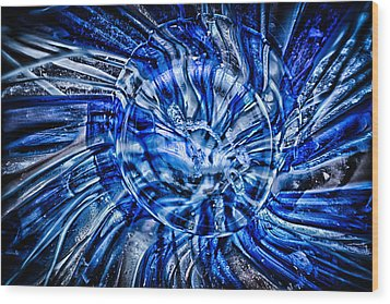 Eye Of The Storm Wood Print by Omaste Witkowski