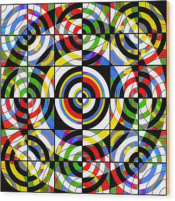Eye On Target Wood Print by Mike McGlothlen