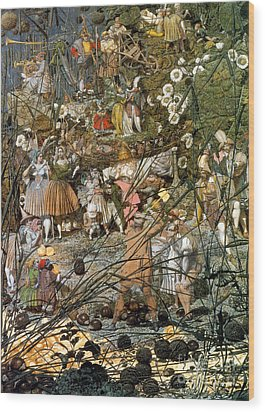 Fairy Fellers Master-stroke Wood Print by Photo Researchers