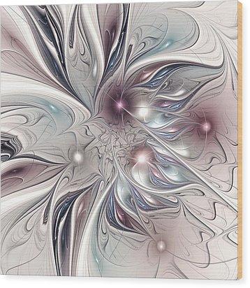 Farplane Wood Print by Anastasiya Malakhova