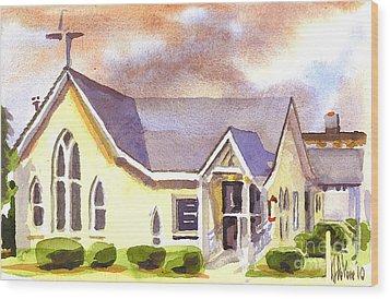 First Presbyterian Church Ironton Missouri Wood Print by Kip DeVore