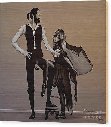 Fleetwood Mac Rumours Wood Print by Paul Meijering