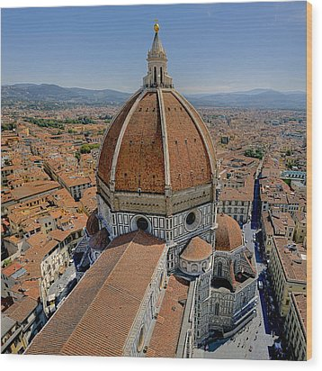 Florence Cathedral Wood Print by Patrick Jacquet