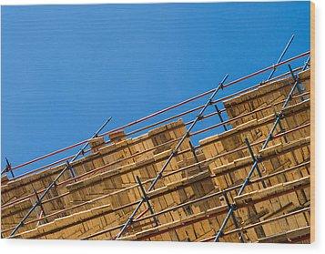 Foundation - Featured 2 Wood Print by Alexander Senin