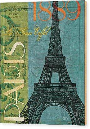 Francaise 1 Wood Print by Debbie DeWitt