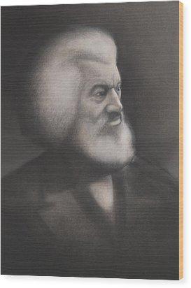 Frederick Douglass Wood Print by Grady Simmons