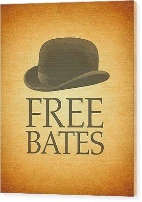 Free Bates Wood Print by Design Turnpike