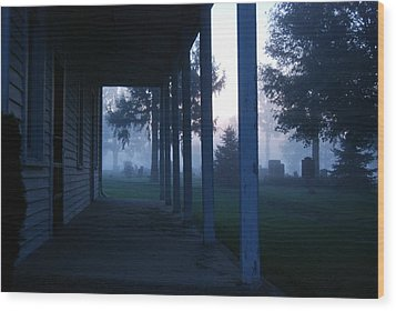 Friend's Meeting House Wood Print by Abraham Adams Photography
