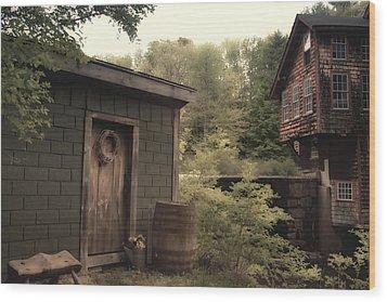 Frye's Measure Mill Wood Print by Joann Vitali