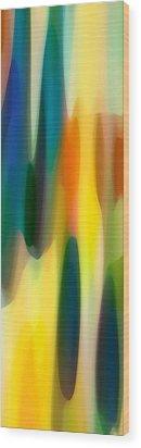Fury Panoramic Vertical 1 Wood Print by Amy Vangsgard