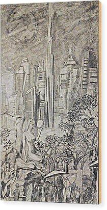 Gammora Wood Print by George Harrison
