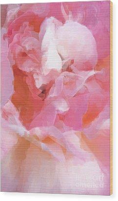 Garden Ballet Wood Print by Gwyn Newcombe