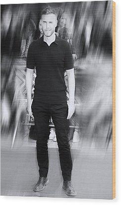 Gary Barlow 1 Wood Print by Jez C Self