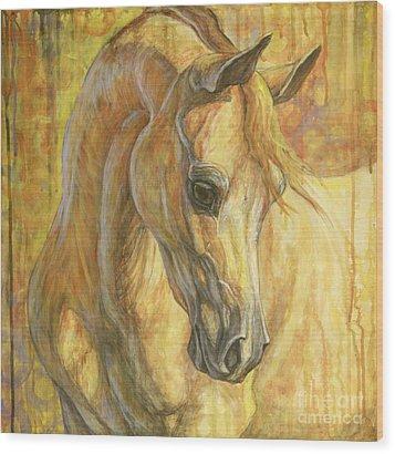 Gentle Spirit Wood Print by Silvana Gabudean