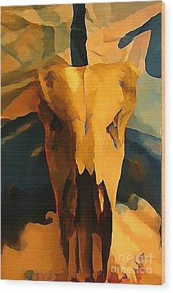 Georgia O'keeffe Influence In Nova Scotia Canada Wood Print by John Malone