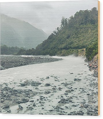 Glacial River Wood Print by MotHaiBaPhoto Prints