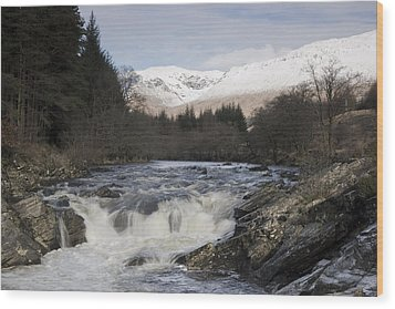 Glen Orchy Scotland Wood Print by Pat Speirs