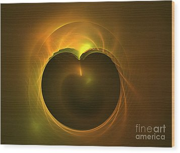 Golden Delicious Wood Print by Kim Sy Ok