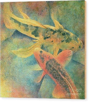 Goldfish Wood Print by Robert Hooper