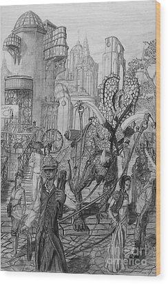 Gomorra Wood Print by George  Harrison