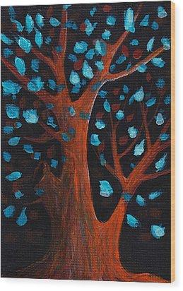 Good Wishes Wood Print by Anastasiya Malakhova