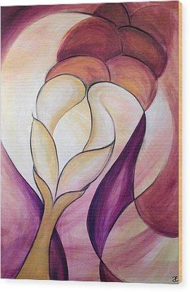 Grace In Plenty Wood Print by Anna Elkins