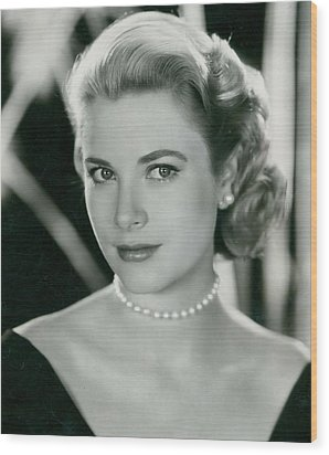 Grace Kelly Wood Print by Retro Images Archive