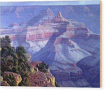 Grand Canyon Wood Print by Randy Follis
