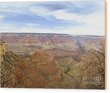 Grand Canyon  Wood Print by Scott Pellegrin