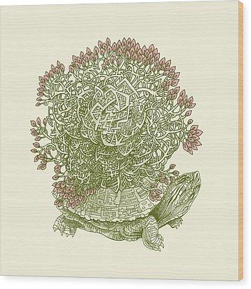 Grow Wood Print by Eric Fan