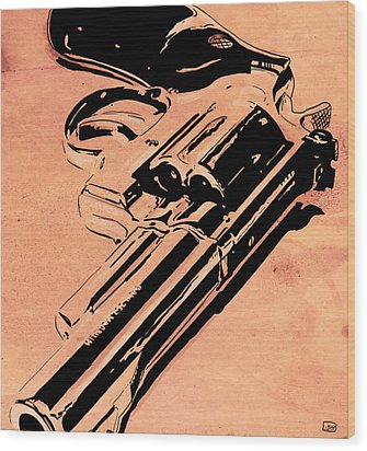 Gun Number 6 Wood Print by Giuseppe Cristiano