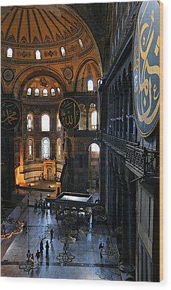 Hagia Sophia Wood Print by Stephen Stookey