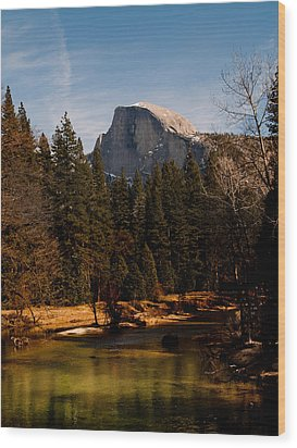 Half Dome Spring Wood Print by Bill Gallagher