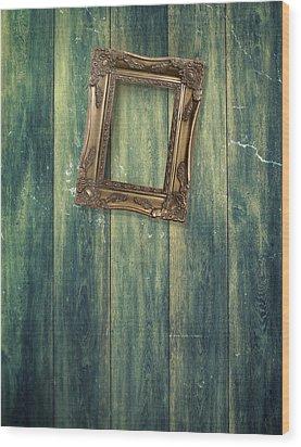 Hanging Frame Wood Print by Amanda Elwell