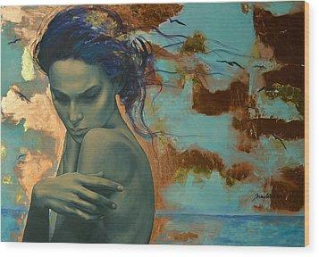 Harboring Dreams Wood Print by Dorina  Costras