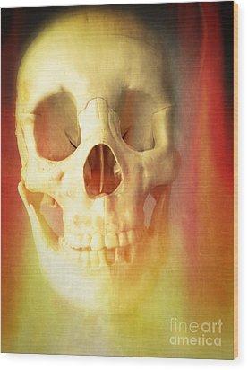Hell Fire Wood Print by Edward Fielding