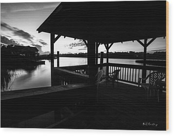 Hinson House 2 Wood Print by Bill Cantey