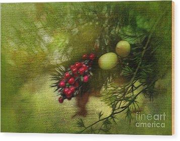 Holiday Season Wood Print by Judi Bagwell