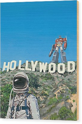 Hollywood Prime Wood Print by Scott Listfield